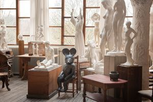 """View of the exhibition """"The song of everything"""" at Carl Eldh's Studio Museum Stockholm (Sweden) 