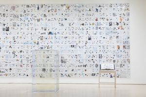 """View of the group exhibition """"Soft Power: A Conversation For The Future"""" at San Francisco Museum of Modern Art, San Francisco (USA), 2019 