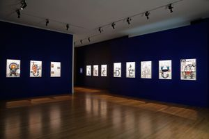 """View of the exhibition """"Always, Sometimes, Never"""" at Frye Art Museum, Seattle (USA) 