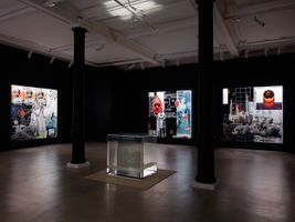 "Vue de l'exposition ""In Plain Sight"" à Marian Goodman Gallery, London (United Kingdom) | Tavares STRACHAN"