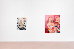 "Vue de l'exposition ""A Face for Every Season"" à Half Gallery Los Angeles (USA) | Danielle ORCHARD"