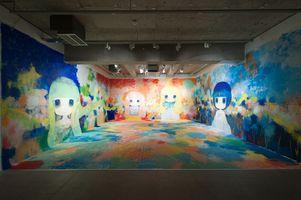 "View of the exhibition ""Heavenly Creatures"" at Kaikai Kiki Gallery Tokyo (Japan) |  OB"