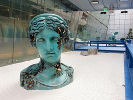 "展覽現場圖 ""Bronze Garden"" 於 180 The Strand Temple, London (United Kingdom), 2021   丹尼爾·阿爾軒"