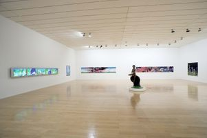 "View of the exhibition ""Chiho Aoshima "" at Musée d'Art Contemporain  (France), 2006 