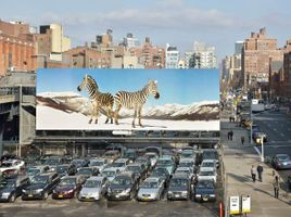 """High Line Art"" curated by Cecilia Alemani  à High Line New York (USA), 2013 