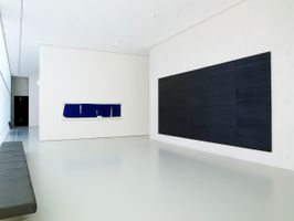 View of the exhibition  at Musée Fabre  Montpellier (France), 2010 | Pierre SOULAGES