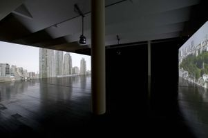 """View of the exhibition """"This Nameless Spectacle"""" at MAC VAL  Vitry-sur-Seine (France), 2011 