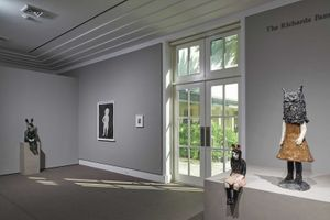 "展覽現場圖 ""Turning into Stone"" curated by Cheryl Brutvan  于 Norton Museum of Art  West Palm Beach (USA), 2014 