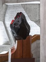"展覽現場圖 ""Invisibility Faces"" 於 Goetheanum Dornach (Switzerland), 2015 