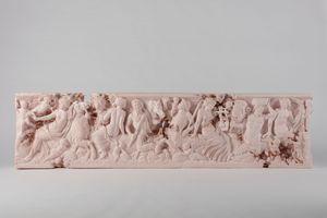 Rose Quartz Sarcophagus with Nereids   Daniel ARSHAM