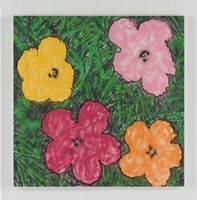 Andy Warhol Flower 2 large | MADSAKI