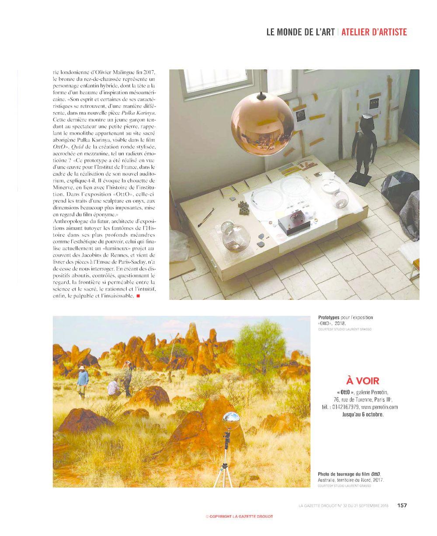 La Gazette Drouot | Laurent GRASSO