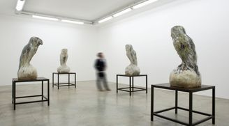 """Johan Creten """"The Vivisector"""", Perrotin Paris"""