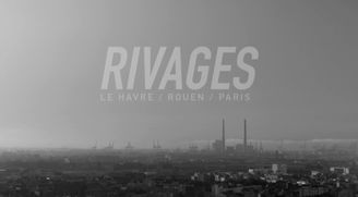 """Rivages"", a project by JR at Le Havre, France, 2014. By Guillaume Cagniard"