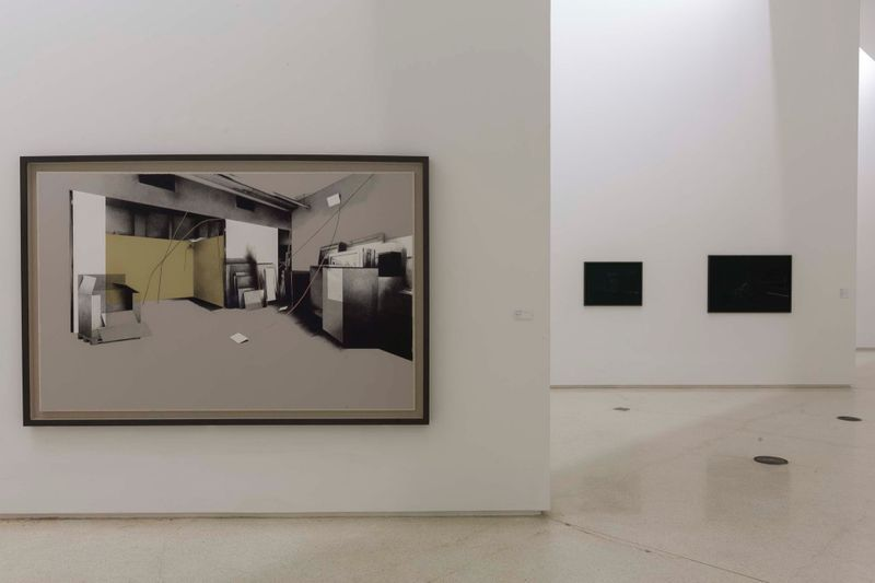 """Tatiana_Trouve_View of the exhibition """"Tatiana Trouvé:L'éclat de l'absence"""" curated by Tang Zehui  at Red Brick Museum  Beijing (China), 2016_11986_1"""