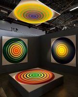 """Vue de l'exposition """"Julio Le Parc"""" curated by Daria de Beauvais   à Palais de Tokyo  Paris (France), 2013   Julio LE PARC"""