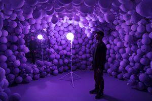 "Vue de l'exposition ""Daniel Arsham: Hourglass"" curated by Jonathan Odden  à High Museum of Art  Atlanta (USA), 2017   Daniel ARSHAM"