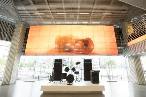 "Vue de l'exposition ""Time in Silence"" à Hyundai Motorstudio  Seoul (South Korea), 2017   Daniel ARSHAM"