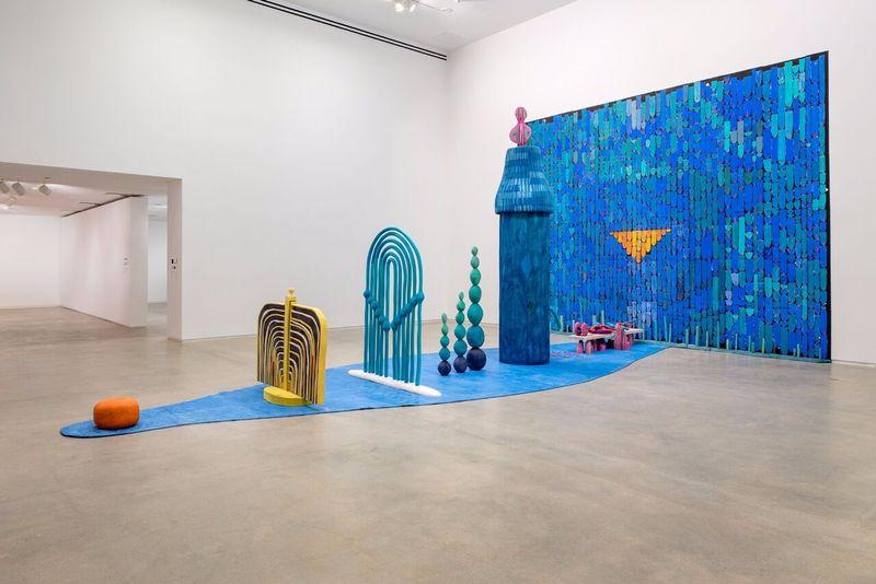 "Matthew_Ronay_View of the exhibition ""Matthew Ronay"" at BLAFFER ART MUSEUM, University of Houston  Houston (USA), 2016_14468"