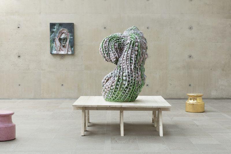 """Johan_Creten_View of the exhibition """"Naked Roots / Naakte Wortels"""" curated by Joost Bergman  at MUSEUM BEELDEN AAN ZEE  SCHEVENINGEN, DEN HAGUE (Netherlands), 2018_15456"""