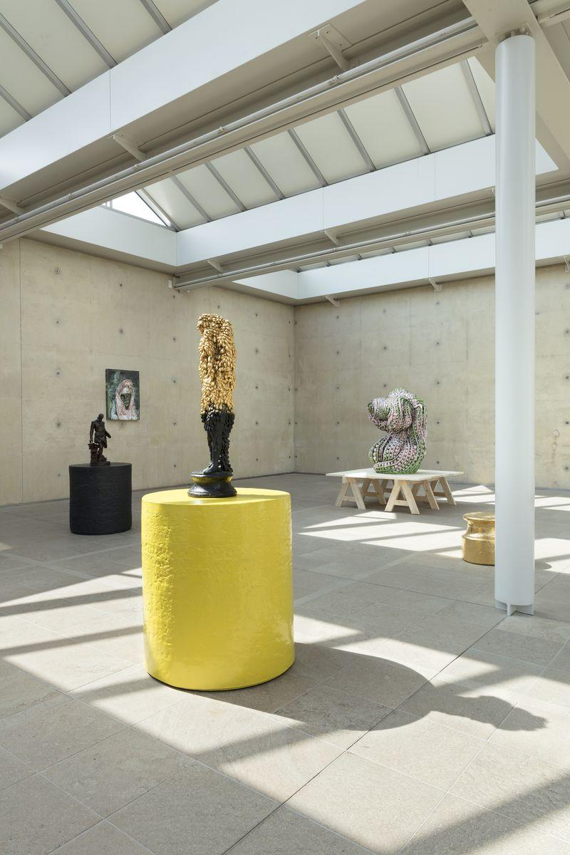 """Johan_Creten_View of the exhibition """"Naked Roots / Naakte Wortels"""" curated by Joost Bergman  at MUSEUM BEELDEN AAN ZEE  SCHEVENINGEN, DEN HAGUE (Netherlands), 2018_15457"""