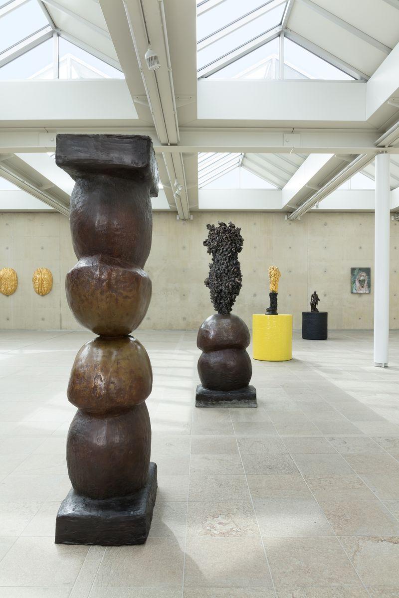 """Johan_Creten_View of the exhibition """"Naked Roots / Naakte Wortels"""" curated by Joost Bergman  at MUSEUM BEELDEN AAN ZEE  SCHEVENINGEN, DEN HAGUE (Netherlands), 2018_15458"""
