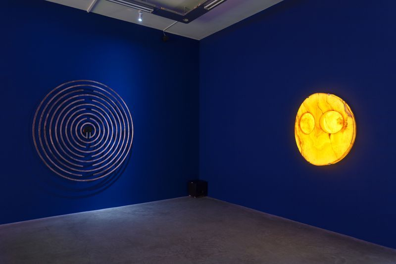 """Laurent_Grasso_View of the exhibition """"OttO"""" at GALERIE PERROTIN  Paris (France), 2018_15846"""