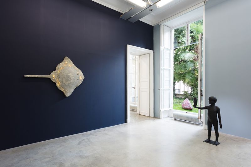 """Laurent_Grasso_View of the exhibition """"OttO"""" at GALERIE PERROTIN  Paris (France), 2018_15848"""