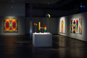 """Vue de l'exposition """"Julio Le Parc - Un visionario"""" à CCK  Buenos Aires (Argentina), 2019   Julio LE PARC"""