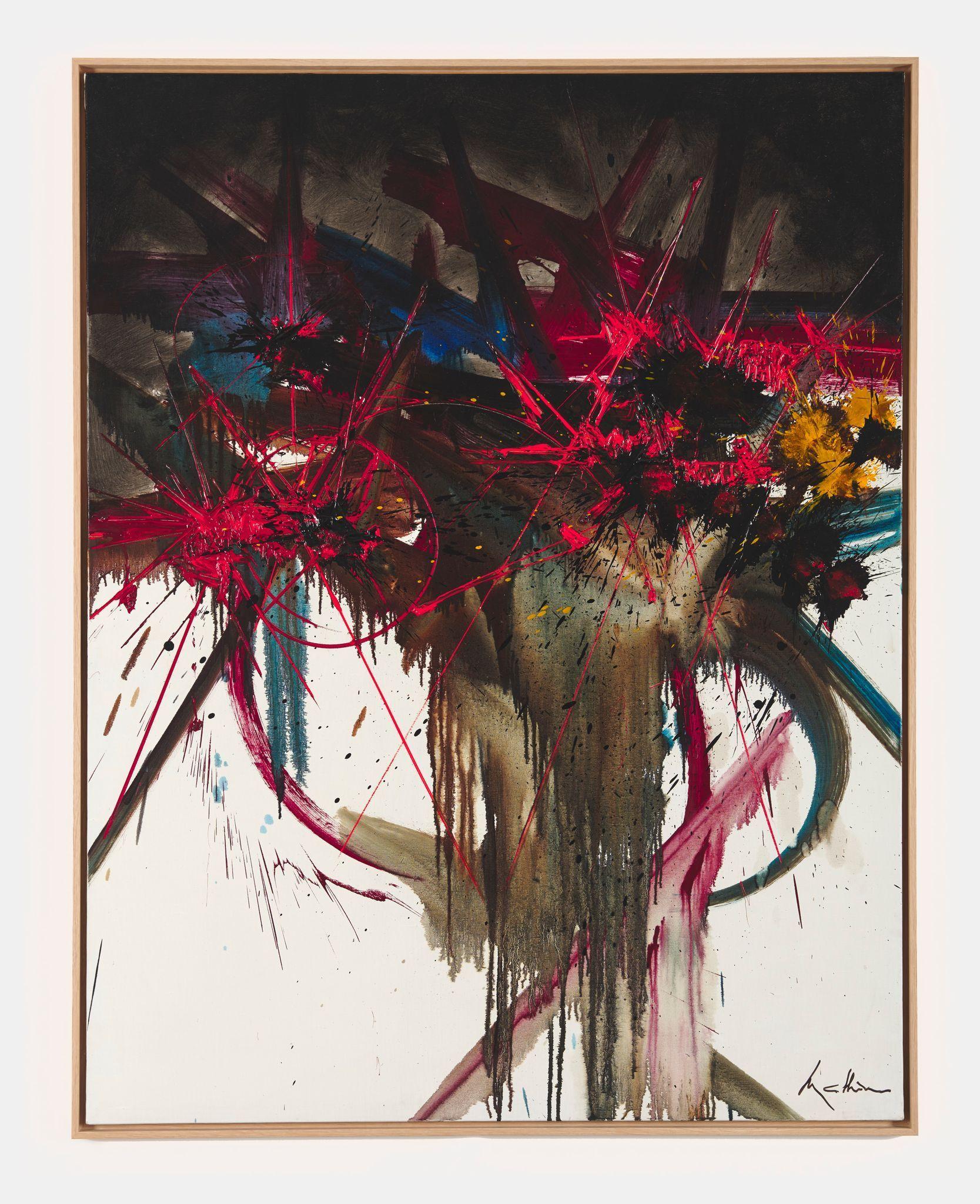 Artist:Georges MATHIEU, Exhibition: