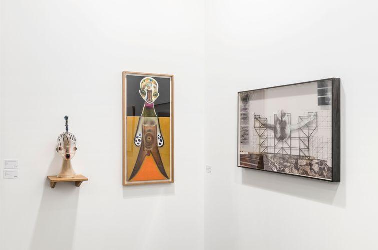 Works by Izumi Kato and JR. (Photo : Roberto Ruiz)