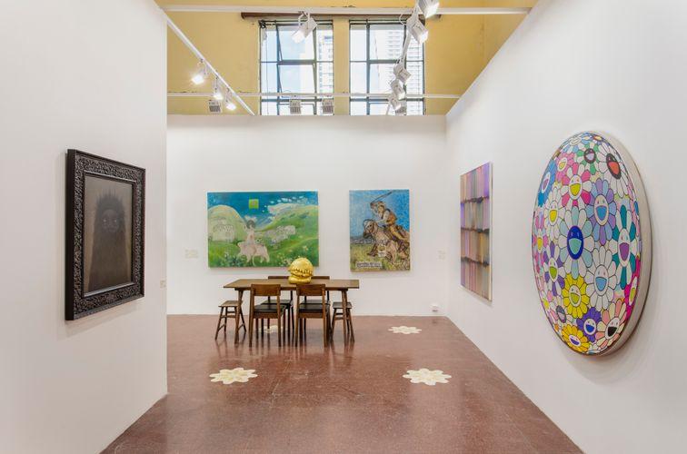 Works by Mark Ryden, Otani Workshop, Aya Takano, and MADSAKI