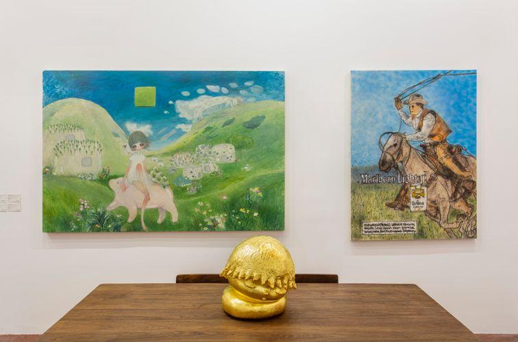 Works by Aya Takano, MADSAKI, and Otani Workshop