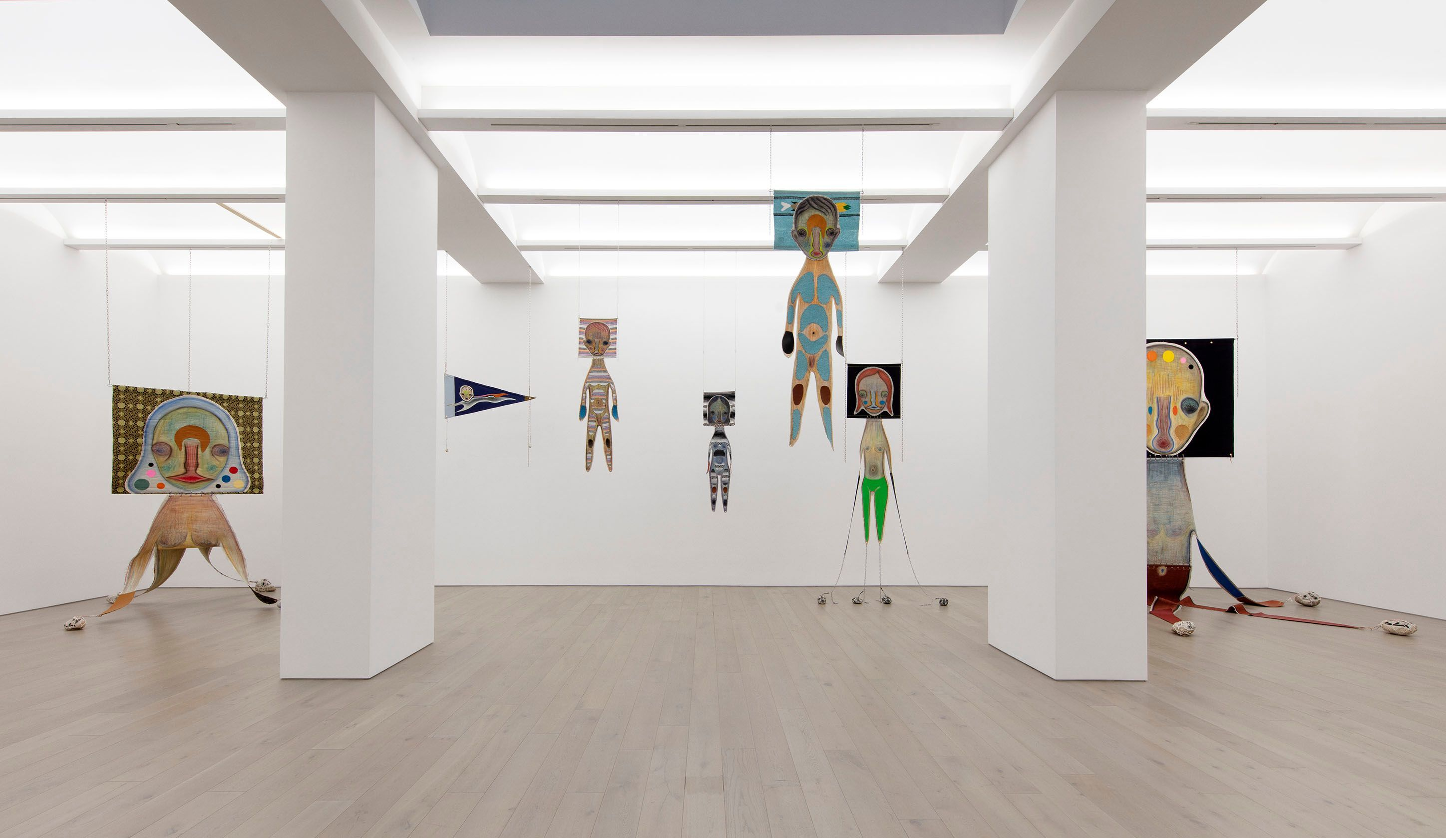 Exhibition View of Izumi Kato at Perrotin New York, 2021. ©Izumi Kato. Courtesy of the artist and Perrotin.