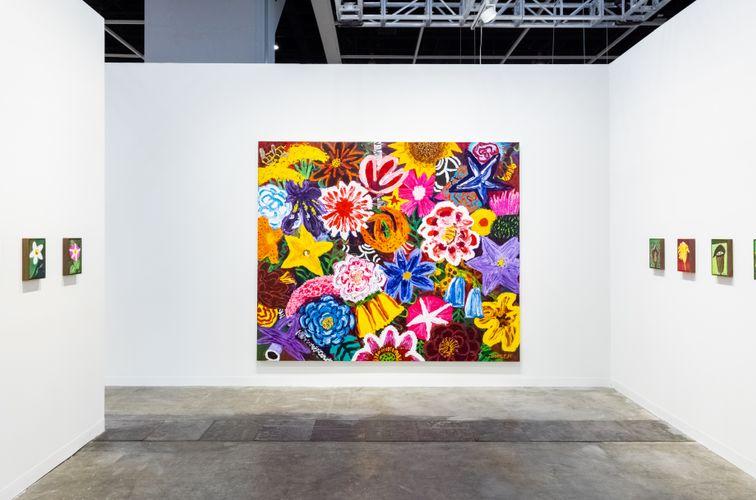 Works by KIM Chong-Hak. (Photo: Ringo Cheung)