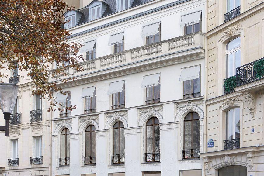 Simulation du 8 avenue Matignon. L'ATELIER SENZU