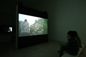 """View of the exhibition """"This Is a Landscape of Desire"""" at The National Museum of Modern and Contemporary Art  Seoul (South Korea), 2014 