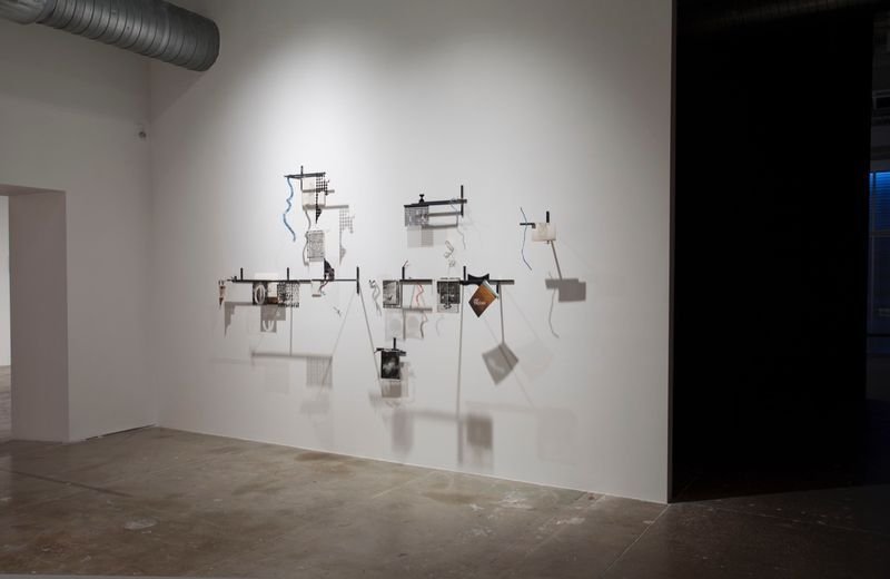 "View of the exhibition"" Intersections (after Lautréamont)"" at CIFO Foundation Miami (USA), 2015"